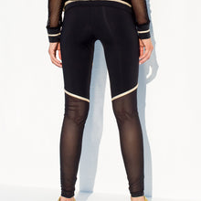 WARRIOR SPIRIT - Gold Trimmed Legging