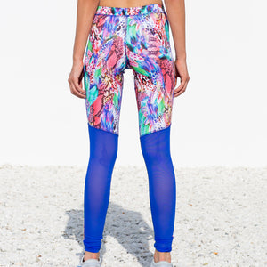 GORGEOUS CHAOS - Mesh Cut Out Legging