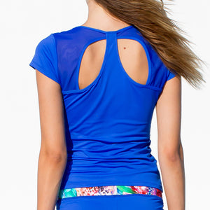 GORGEOUS CHAOS - Cutout Back T Shirt
