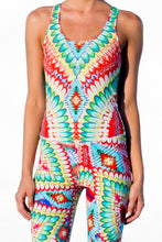 WILD HEART - Racerback Cutout Leotard • Multicolor