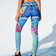 INKED BABE - Engineered Print Legging