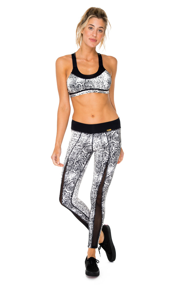 BOMBO - Crossback Sports Bra & Cut Out Legging • Multicolor