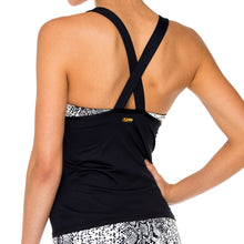 BOMBO - Mesh Inner Top V Cross Back Tanktop
