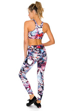 CIENFUEGOS - Grommet T Back Sports Bra & Skinny Legging • Multicolor