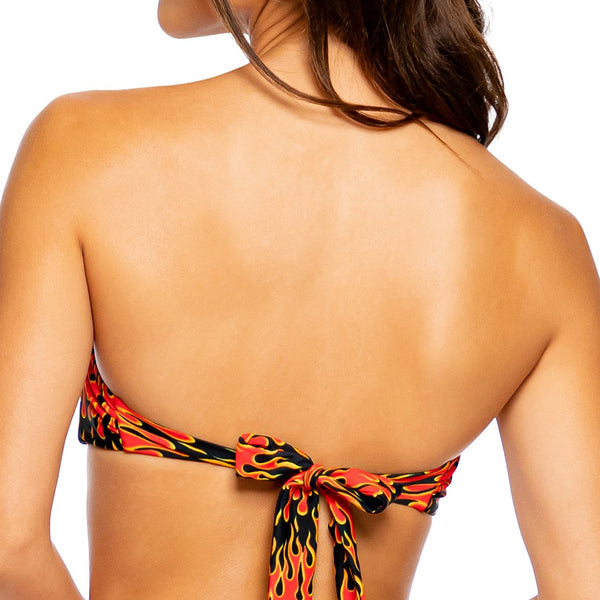 FLAME OF LOVE - Free Form Bandeau