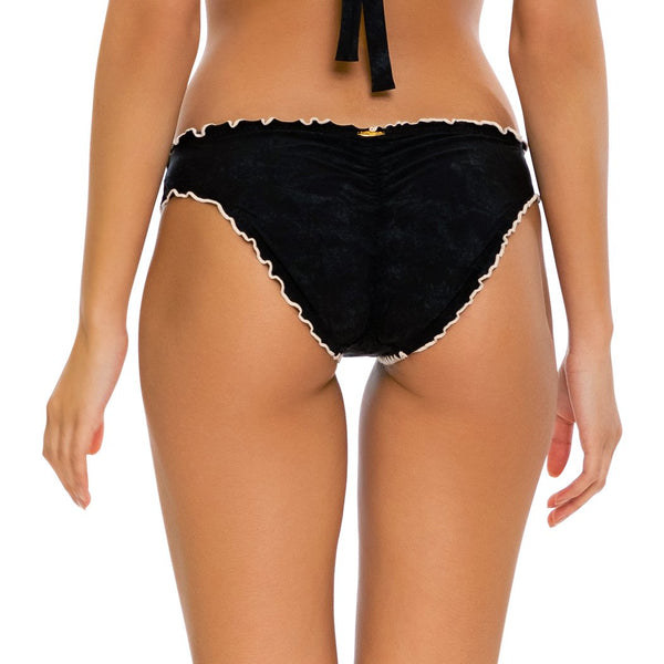 MIDNIGHT DREAMING - Seamless Full Ruched Back Bottom