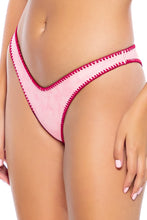CANDY CLOUDS - Underwire Top & High Leg Bottom • Pink
