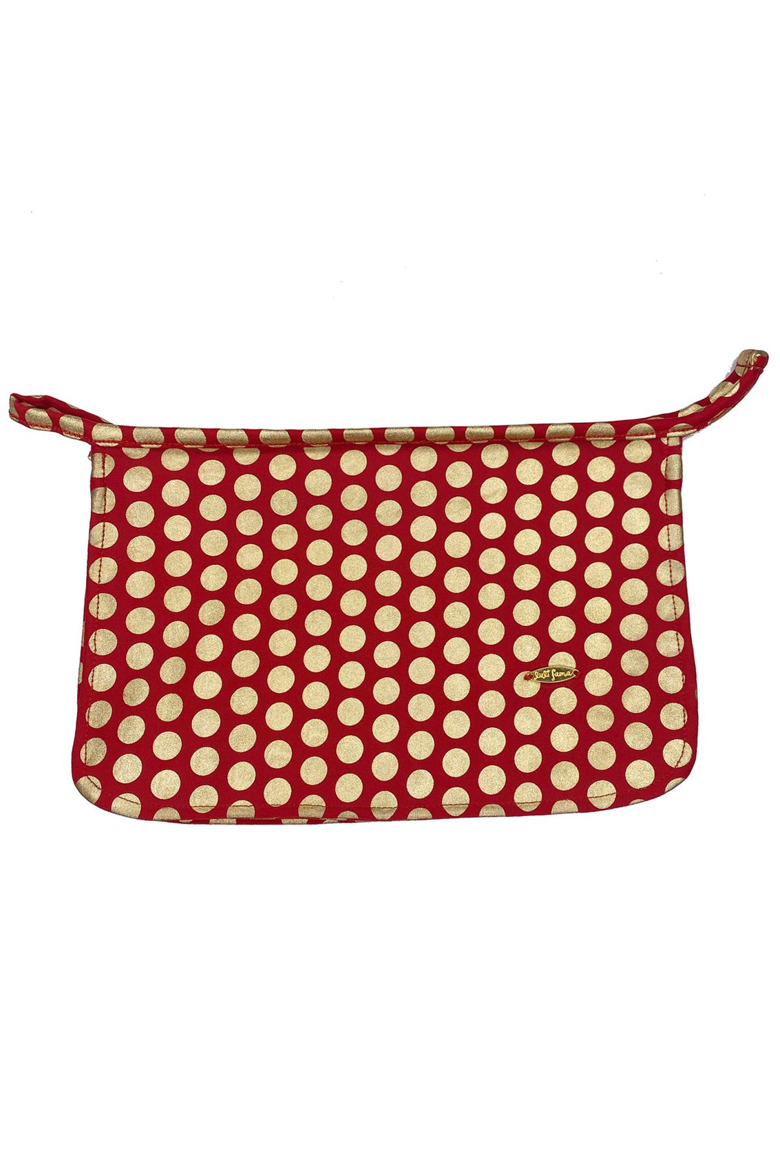 DOTTED DELIGHT - Bikini Bag • Ruby Red