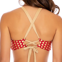 DOTTED DELIGHT - Bandeau Top