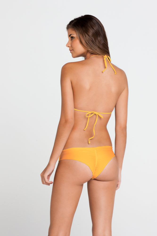 COSITA BUENA - Wavey Triangle Top & Wavey Brazilian Ruched Back Bottom • Wild Thing