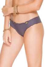COSITA BUENA - Wavey Triangle Top & Wavey Brazilian Ruched Back Bottom • Piedra Gris
