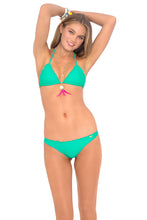 COSITA BUENA - Wavey Triangle Top & Drawstring Back Scrunch Bottom • Mermaid Crossing
