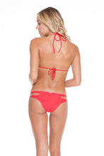 COSITA BUENA - Wavey Triangle Top & Reversible Zig Zag Open Side Moderate Bottom • Girl On Fire