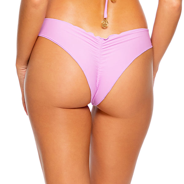 COSITA BUENA - Seamless Wavy Ruched Back Bottom-DS