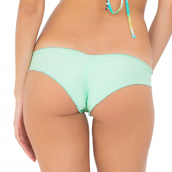 COSITA BUENA - Wavey Brazilian Ruched Back Bottom-MNC