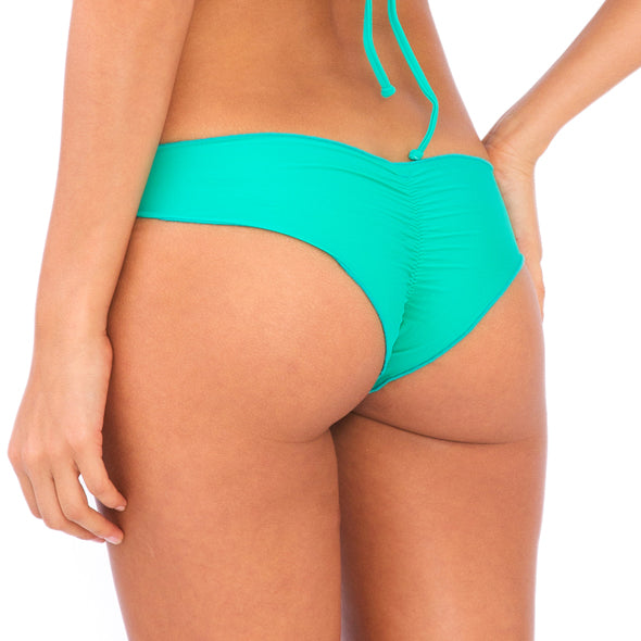 COSITA BUENA - Wavey Brazilian Ruched Back Bottom-DCC