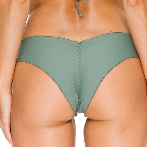 COSITA BUENA - Wavey Brazilian Ruched Back Bottom-VCC