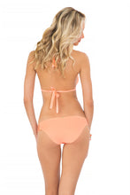 COSITA BUENA - Halter Triangle Top & Multi Braid Full Bottom • Miami Peach