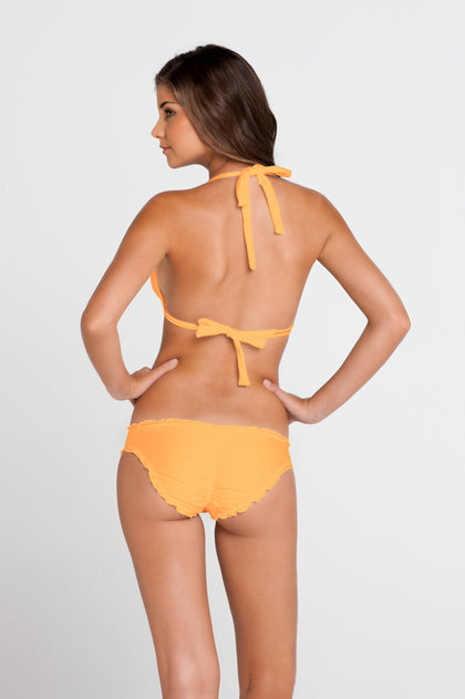 COSITA BUENA - Halter Triangle Top & Full Ruched Back Bottom • Wild Thing