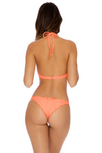 COSITA BUENA - Plunge Push Up Fringe Underwire Top & Drawstring Back Scrunch Bottom • Hot Mess