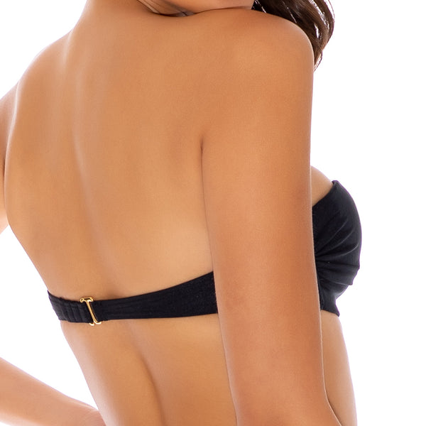 COSITA BUENA - Underwire Push Up Bandeau Top-CLS