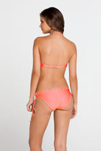 COSITA BUENA - Underwire Push Up Bandeau & Wavey Full Tie Side Ruched Back • Hot Mess