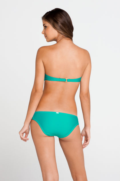 COSITA BUENA - Underwire Push Up Bandeau & Multi Braid Full Bottom • Sexy Siren