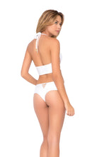 COSITA BUENA - Underwire Corset & Cheeky Tied Up Back Bottom • White