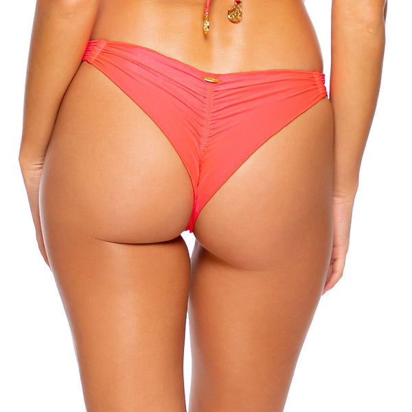 COSITA BUENA - Strappy  Ruched Back Bottom-DS
