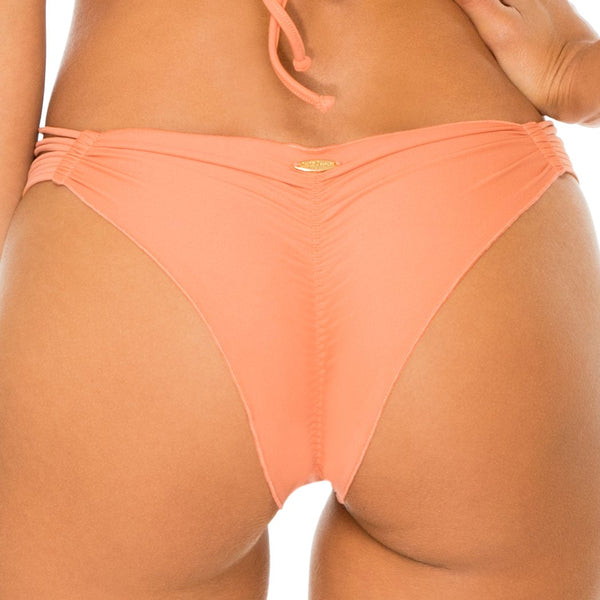 COSITA BUENA - Strappy Brazilian Ruched Back Bottom-WAC (1608609431654)