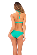 COSITA BUENA - Seamless Plunge Underwire Push Up Top & Reversible Seamless Full Bottom • Mermaid Crossing