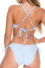 COSITA BUENA - Underwire Adjustable Top & Wavey Full Tie Side Ruched Back • Cielo