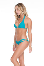 COSITA BUENA - Halter Top & Reversible Zig Zag Open Side Moderate Bottom • Exuma
