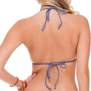 COSITA BUENA - Molded Push Up Bandeau Halter-WHC
