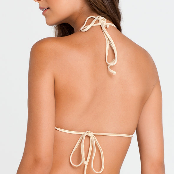 COSITA BUENA - Waves Molded Push Up Bandeau Halter-LBC
