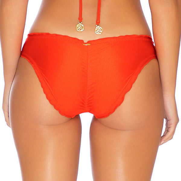 COSITA BUENA - Seamless Full Ruched Back Bottom-EJC