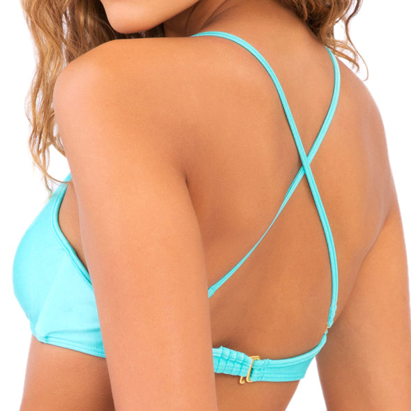 COSITA BUENA - Criss Cross Back Bra Top-DC