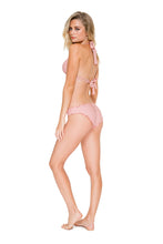 COSITA BUENA - Halter Triangle Top & Full Ruched Back Bottom • Rosa