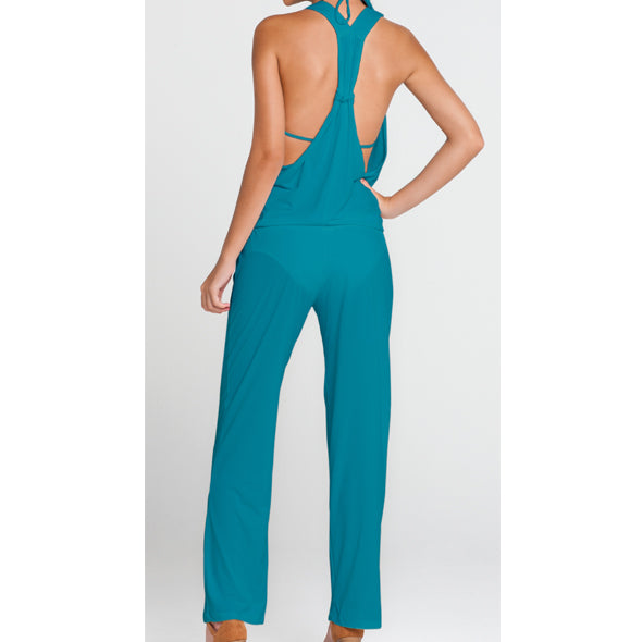 COSITA BUENA - T Back Long Jumpsuit-LBC
