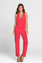 COSITA BUENA - T Back Long Jumpsuit • Bombshell Red