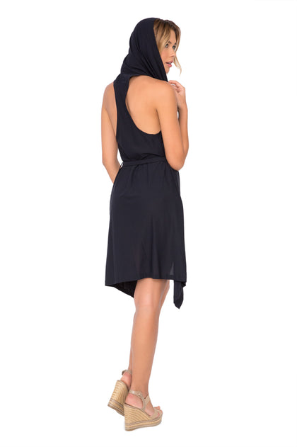 COSITA BUENA - Beach Wrap Vest • Black