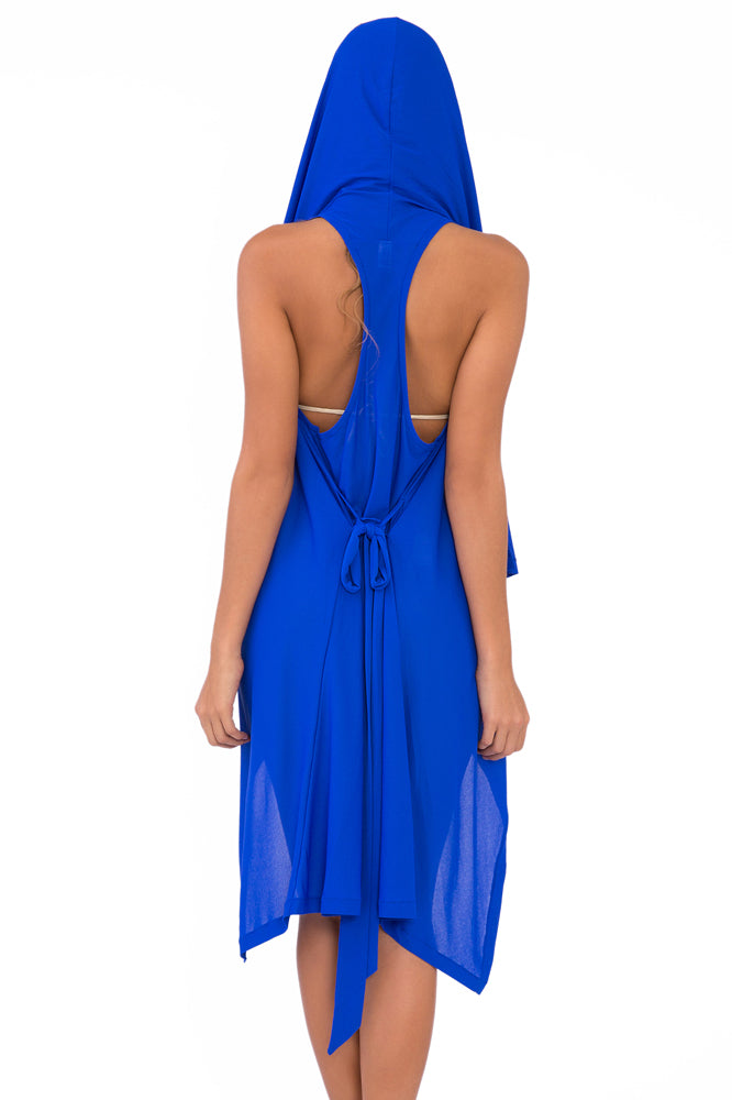 COSITA BUENA - Beach Wrap Vest • Electric Blue