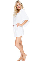 COSITA BUENA - South Beach Dress • White