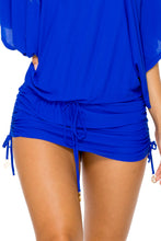 COSITA BUENA - South Beach Dress • Electric Blue