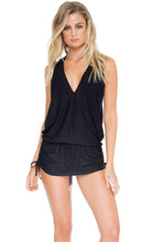 COSITA BUENA - T Back Mini Dress • Black