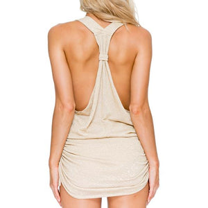 COSITA BUENA - T Back Mini Dress-CLS