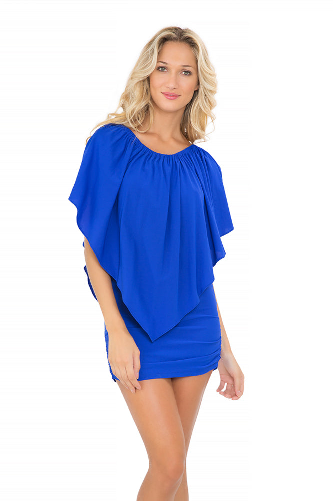 COSITA BUENA - Party Dress • Electric Blue (1005648773164)