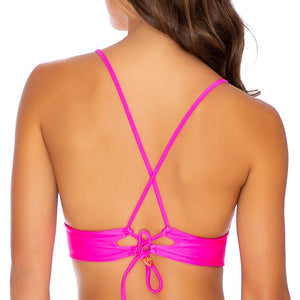 COSITA BUENA - Cross Back Bustier Top-EJC