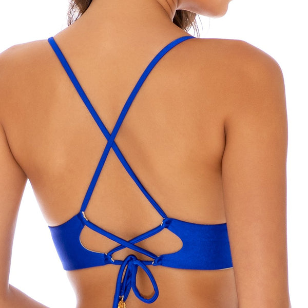 COSITA BUENA - Cross Back Bustier Top-CLS