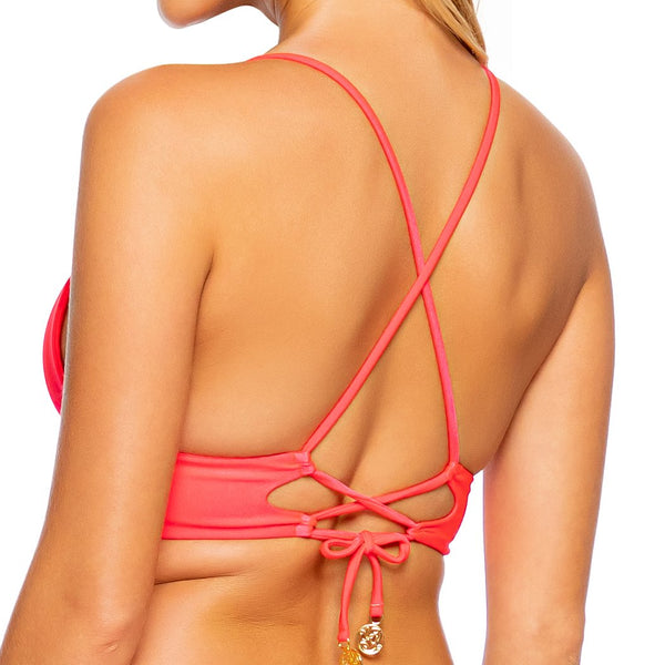 COSITA BUENA - Cross Back Bustier Top-DS